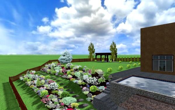 Video Proiect 3D amenajare curte