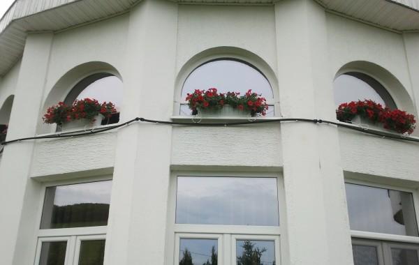 Irigatie automatizata la florile in ghiveci